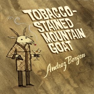 Tobacco -Stained Mountain Goat by Andrez Bergen