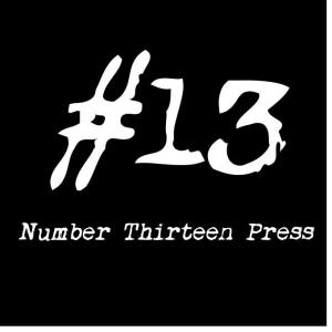 Guest Blog: Number Thirteen Press – The End? by Christopher Black