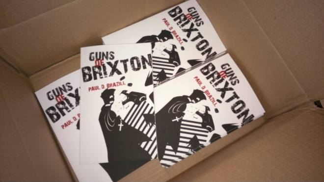 Guns Of Brixton is As Cheap As Chips from Caffeine Nights Publishing